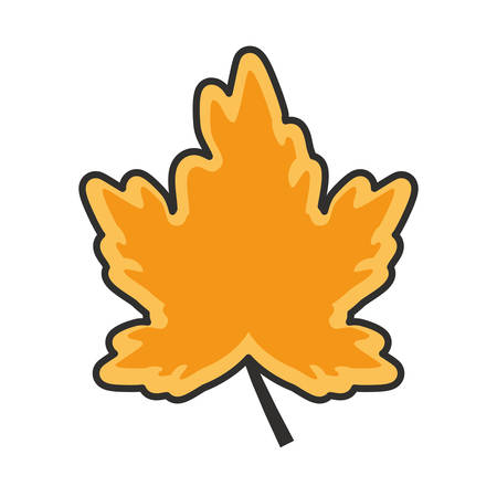 maple leafs autumn pattern background vector illustration design Archivio Fotografico - 136390718