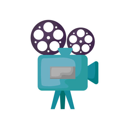 cinema video camera isolated icon vector illustration design