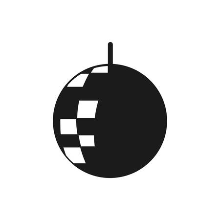 disco ball music sound design vector illustration Illustration