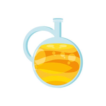 oil jar health isolated icon vector illustration design Иллюстрация