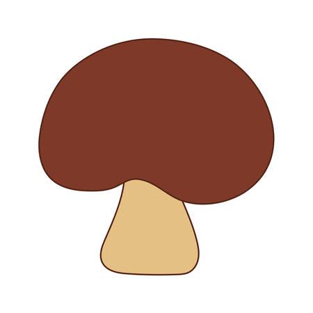 Fungi mushroom design, nature fungus food forest plant and autumn theme Vector illustration 向量圖像