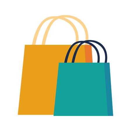 shopping bag design, Commerce market store retail paying and buying theme Vector illustration