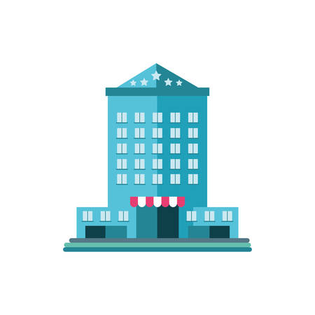bank finance building in white background vector illustration design Vektoros illusztráció