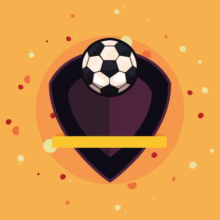 ball sport emblem banner vector illustration design Фото со стока - 138044665
