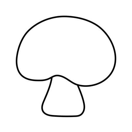 grzyby grzyby, natura grzyby leśne i jesienny motyw ilustracji wektorowych Ilustracje wektorowe