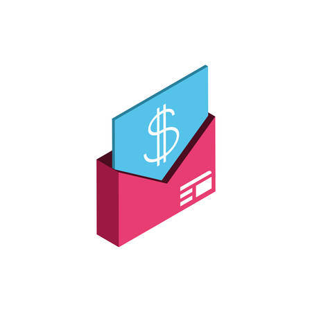 message of money financial item banking commerce market payment buy currency accounting and invest theme Vector illustration
