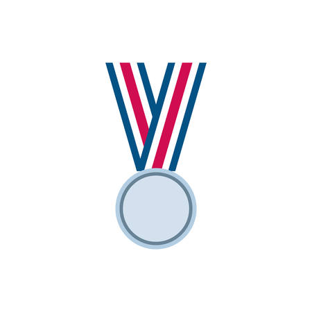 Usa medal design, United states america independence labor day nation us country and national theme Vector illustration Vektorgrafik