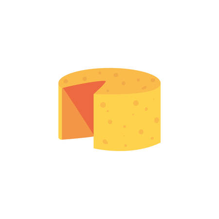 Cheese icon design, Eat food restaurant menu dinner lunch cooking and meal theme Vector illustration