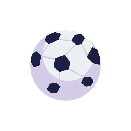 soccer ball sport isolated icon vector illustration design