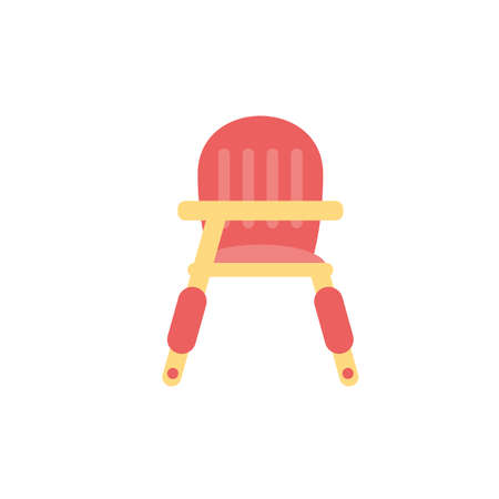baby chair design, Child newborn childhood object innocence and little theme Vector illustration