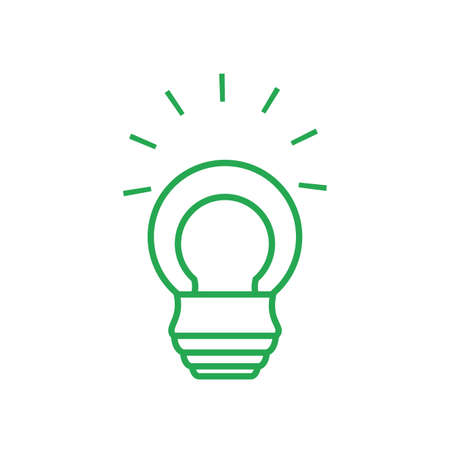saving bulb electric hanging isolated icon vector illustration design