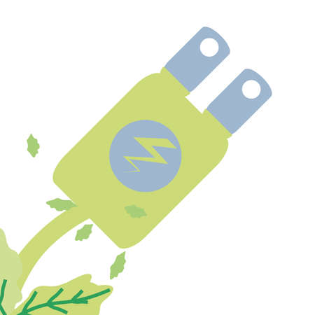 energy plug electric isolated icon vector illustration design Ilustração