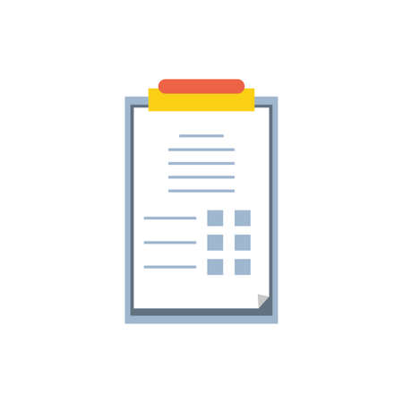 checklist clipboard order industry icon vector illustration design 스톡 콘텐츠 - 140807080