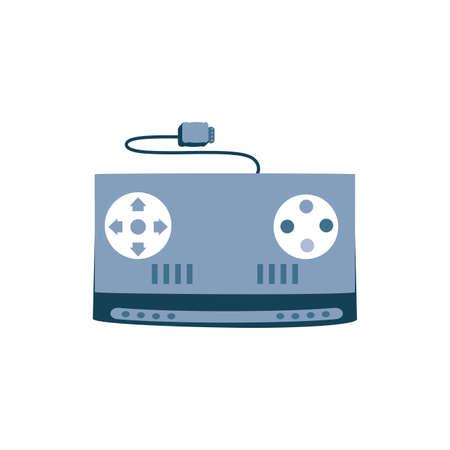 video game control retro icon vector illustration design