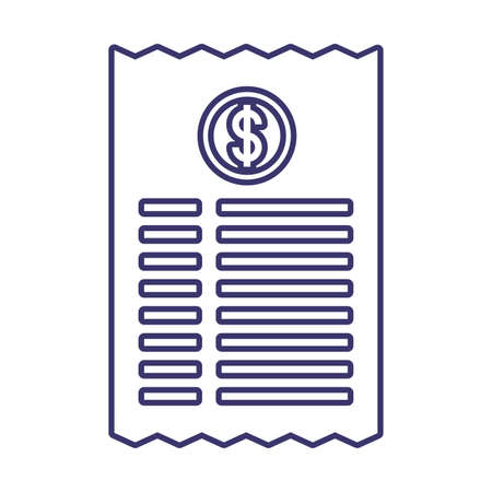 Document of money financial item banking commerce market payment buy currency accounting and invest theme Vector illustration 向量圖像