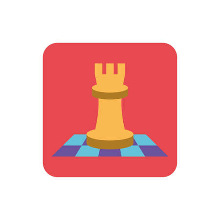 chess game on white background vector illustration design 일러스트