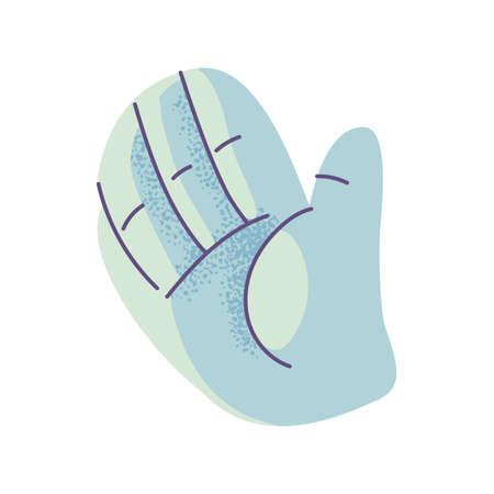 human hand, body part on white background vector illustration design 矢量图像