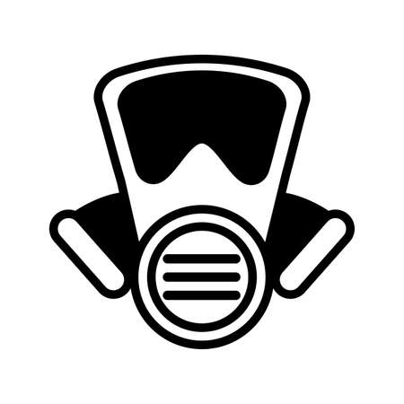 emergency mask on white background vector illustration design Vectores