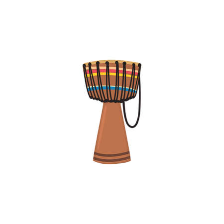 Drum instrument design, Music sound melody song musical art and composition theme Vector illustration Иллюстрация
