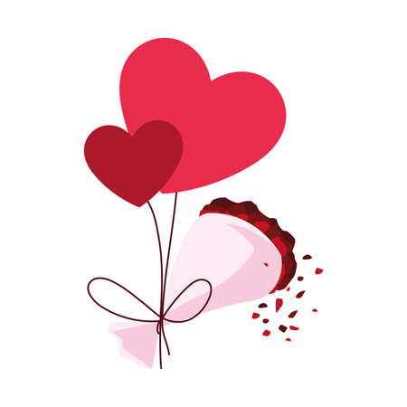 set of icons valentines day vector illustration design Векторная Иллюстрация