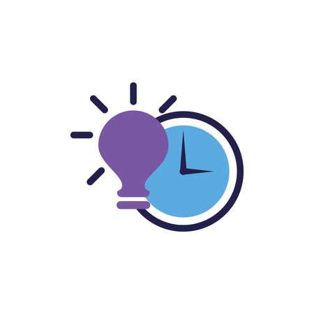 light bulb off in white background vector illustration design