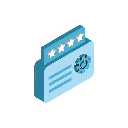 Website code and gear design, Programming web designer technology internet media modern and development theme Vector illustration