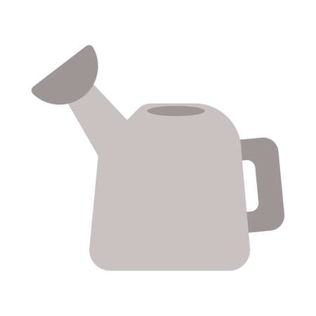 watering can on white background vector illustration design