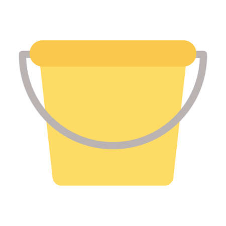 gardening bucket on white background vector illustration design Ilustração