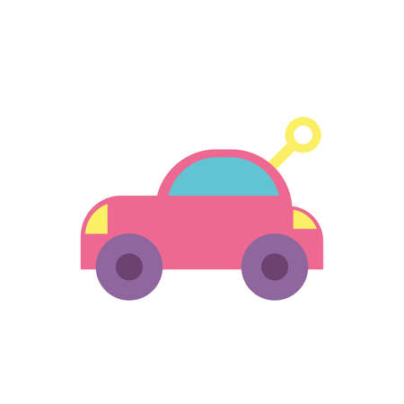 car toy design of Childhood play fun kid game gift object little and present theme Vector illustration 版權商用圖片 - 143539058