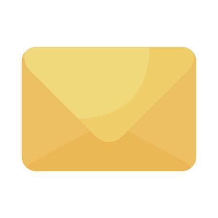 envelope closed on white background vector illustration design 向量圖像