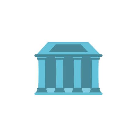 capitol building on white background vector illustration design 向量圖像