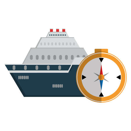compass travel guide icon vector illustration design