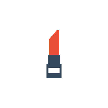 lipstick open on white background vector illustration design Stock Illustratie