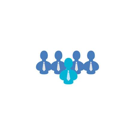 Businessmen avatar design, Man business management corporate job occupation and worker theme Vector illustration