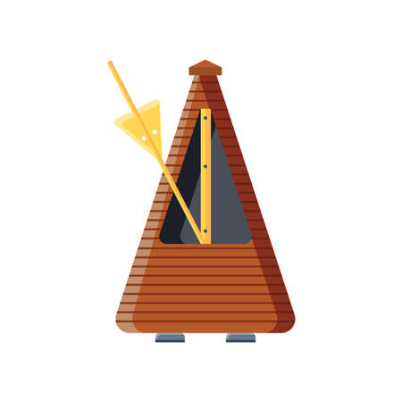 guitar metronome on white background vector illustration design Stockfoto - 147475159