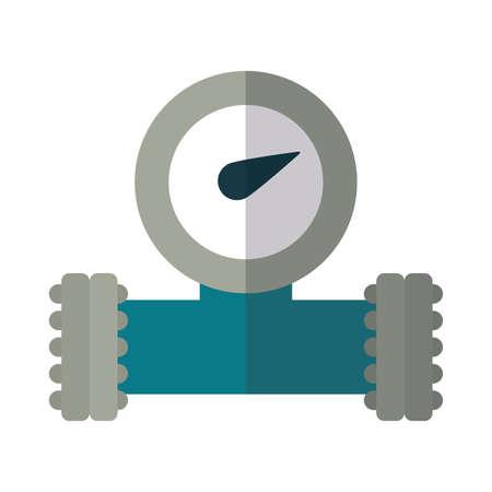 oil valve on white background vector illustration design Ilustração