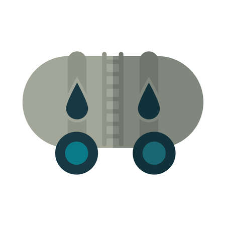 oil container in white background vector illustration design Illustration