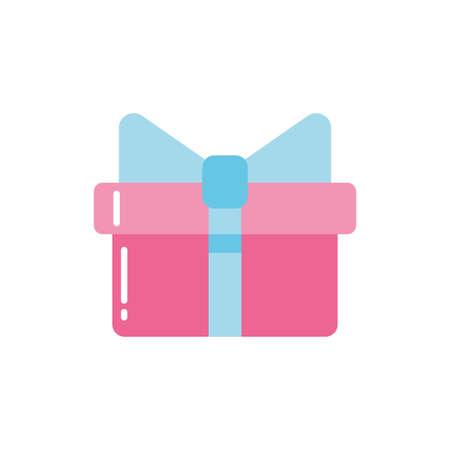 Gift design, happy birthday celebration decoration party festive and surprise theme Vector illustration Ilustrace