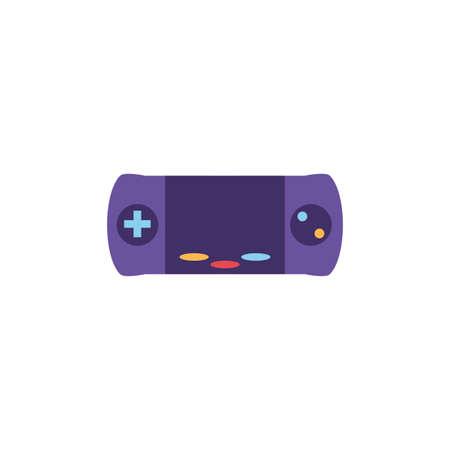 videogame console on white background vector illustration design