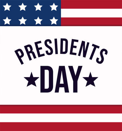Flag design, Usa happy presidents day elections united states america independence nation us country and national theme Vector illustration