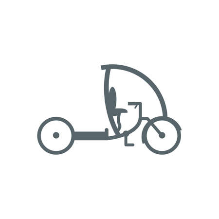 bike icon design, Vehicle bicycle cycle healthy lifestyle sport and leisure theme Vector illustration 일러스트