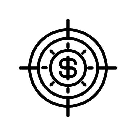 icon money turnover in white background vector illustration design Stock Illustratie