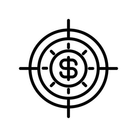icon money turnover in white background vector illustration design Illustration