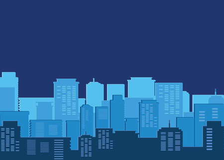 buildings metropolis cityscape silhouette vector illustration design Ilustracja