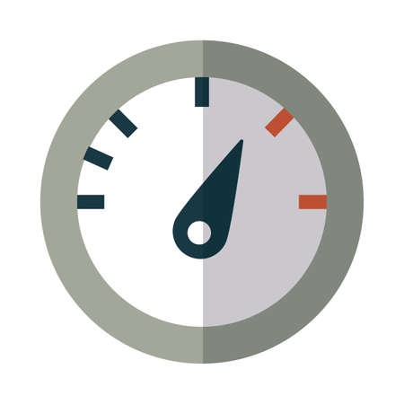 pressure display on white background vector illustration design