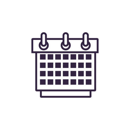 calendar reminder date icon vector illustration design