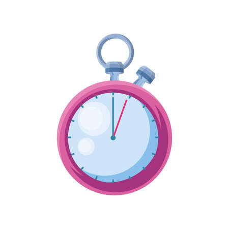 stopwatch for gym on white background vector illustration design