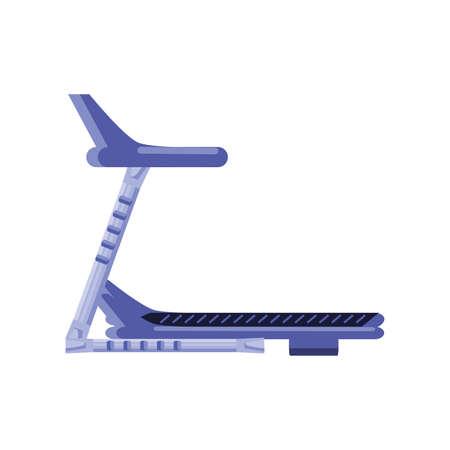 exercise treadmill on white background vector illustration design