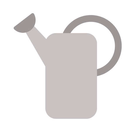 watering can on white background vector illustration design Vectores