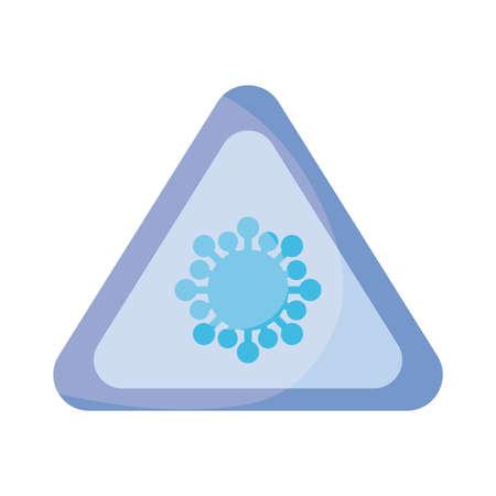 lockdown pandemic novel coronavirus , flat style icon vector illustration design